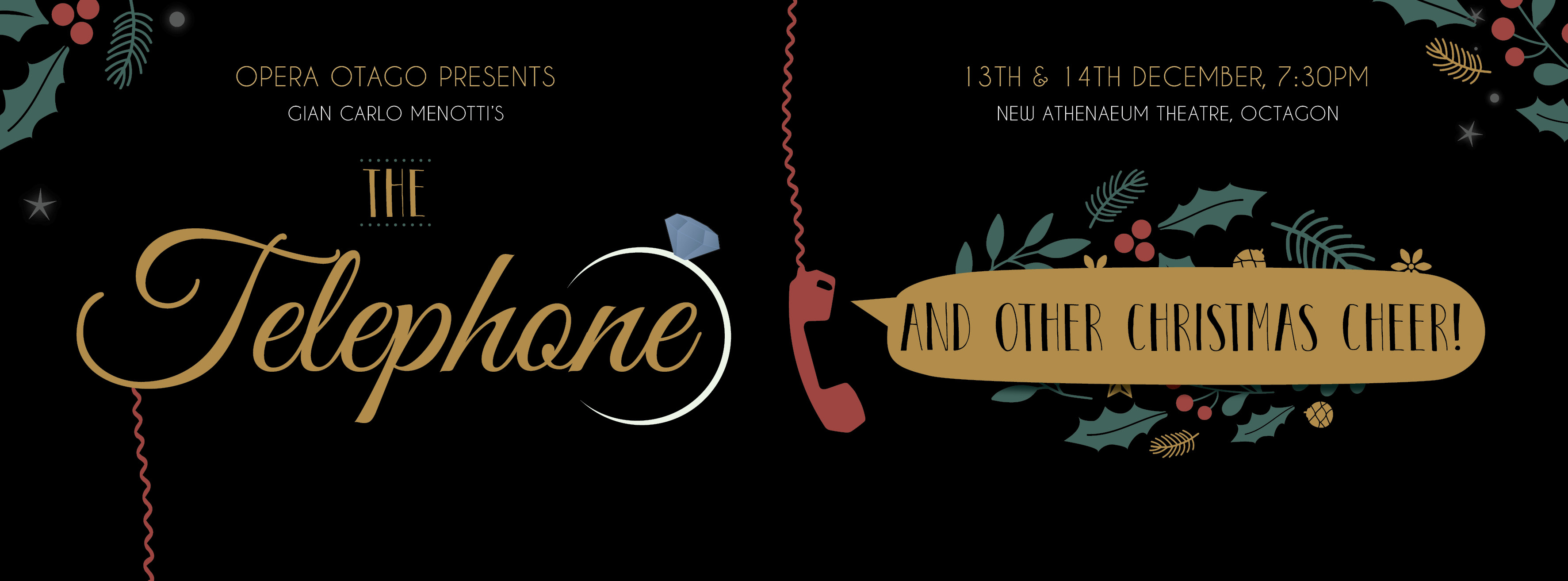 The Telephone - Facebook Banner Image